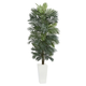 Home Accent 7' Areca Artificial Tree in White Tower Planter