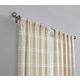 Plaid Window Panel Set of Two