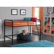 Kids Junior Twin Metal Loft Bed