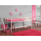 Kids Junior Twin Loft Bed with Storage Steps