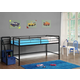 Kids Junior Twin Loft Bed with Storage Steps