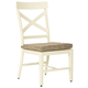 Preston Bay Armless Chair with Cushion (Set of 2)
