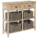 Oslember Sofa/Console Table