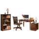 Hamlyn Home Office Desk with Chair and Storage