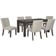 Deylin Dining Table and 6 Chairs