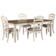 Realyn Dining Table and 4 Chairs