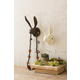 Decorative Cast Iron Rabbit Wall Hook - Rustic (Min 2)