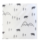 My Baby Sam Little Black Bear Changing Pad Cover