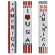 Decorative Assorted Wooden Americana Home Décor (Set of 3)