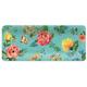 Melamine Garden Floral Rectangular Platter
