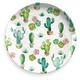 Melamine Desert Garden Round Platter
