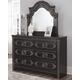 Banalski Dresser and Mirror
