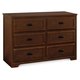 Davinci Charlie Homestead 6 Drawer Double Dresser