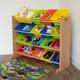 Kids Pacific Super Sized Toy Storage Organizer with 16 Bins