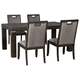 Hyndell Dining Table and 4 Chairs