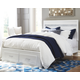 Jallory Queen Panel Bed with 2 Storage Drawers