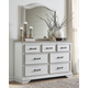 Teganville Dresser and Mirror