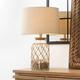 Glass Jar Hugo Table Lamp