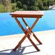 Vifah Malibu Outdoor Folding Bistro Table