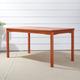 Vifah Malibu Outdoor Rectangular Patio Dining Table