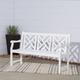 Vifah Bradley Outdoor 5ft Wood Garden Bench
