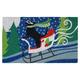 Decorative Liora Manne Terrene Downhill Racer Outdoor Mat 18