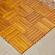 Vifah Malibu 6-Slat Acacia Interlocking Deck Tile (Set of 10)