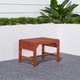 Vifah Malibu Outdoor Backless Garden Stool