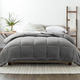 Microfiber King/California King Premium Down Alternative Comforter