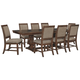 Windville Dining Table and 8 Chairs