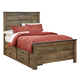 Trinell Full Panel Bed with 2 Storage Drawers