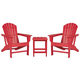 Sundown Treasure 2 Outdoor Chairs with End Table