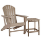 Sundown Treasure Outdoor Chair with End Table