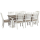 Havalance Dining Table and 8 Chairs