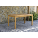 Amazonia Teak Finish Rectangular Dining Table