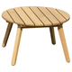 Amazonia Teak Finish Round Side Table