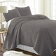 Damask Patterned 3-Piece Twin/Twin XL Quilted Coverlet Set