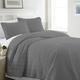 Square Patterned 3-Piece Twin/Twin XL Quilted Coverlet Set