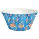Tarhong Bali Summer Brights Blue Lotus Serve Bowl