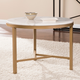 Home Accent Dennis Marble Accent Table