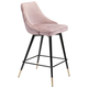 Posano Velvet Counter Height Bar Stool