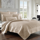 Quilted King Coverlet