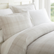 Thatch Patterned 3-Piece King/California King Duvet Cover Set