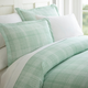 Thatch Patterned 3-Piece Twin/Twin XL Duvet Cover Set