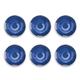 Tarhong Raku Blue Dinner Plate (Set of 6)