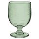 Tarhong 10.5 oz Cordoba Green Recycled Stacking Goblet (Set of 6)