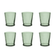 Tarhong 16 oz Cordoba Recycled Green DOF (Set of 6)