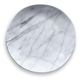 Tarhong Carrara Marble Dinner Plate (Set of 6)