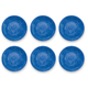 Tarhong Bali Brights Blue Reactive Dinner Plate (Set of 6)