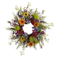 """Home Accents 24"""" Spring Garden Wreath with Twig Base"""